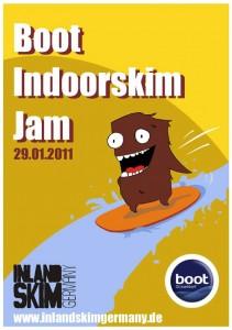 boot Wassersportmesse: Indoorskim Jam am 29.01.2011 auf der boot in Düsseldorf