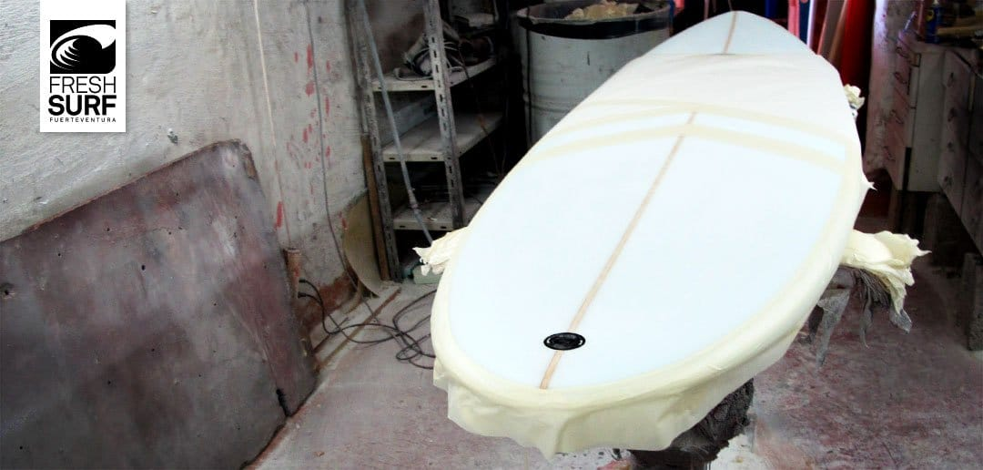 Shaper shapt surfboard