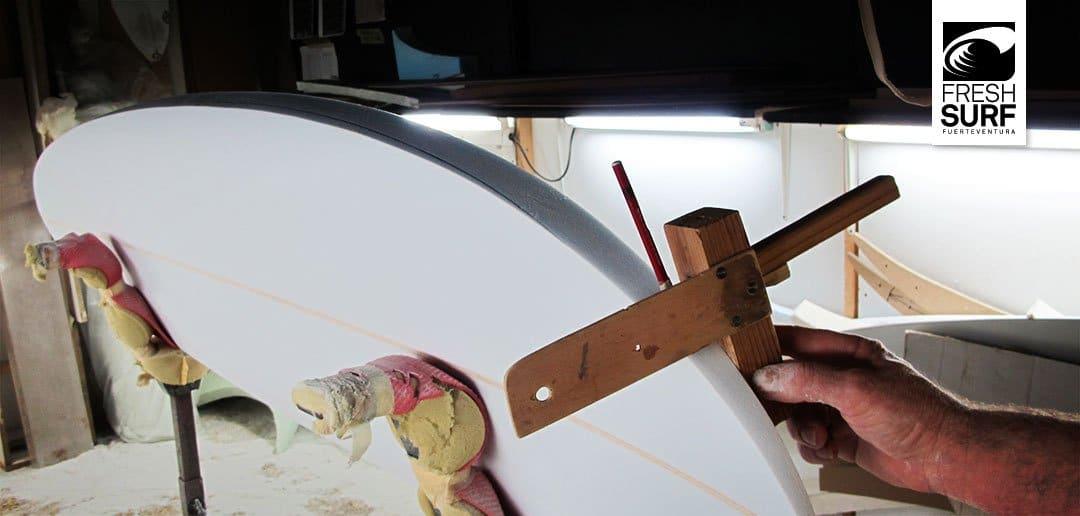 Surfboard ständer für's shapen
