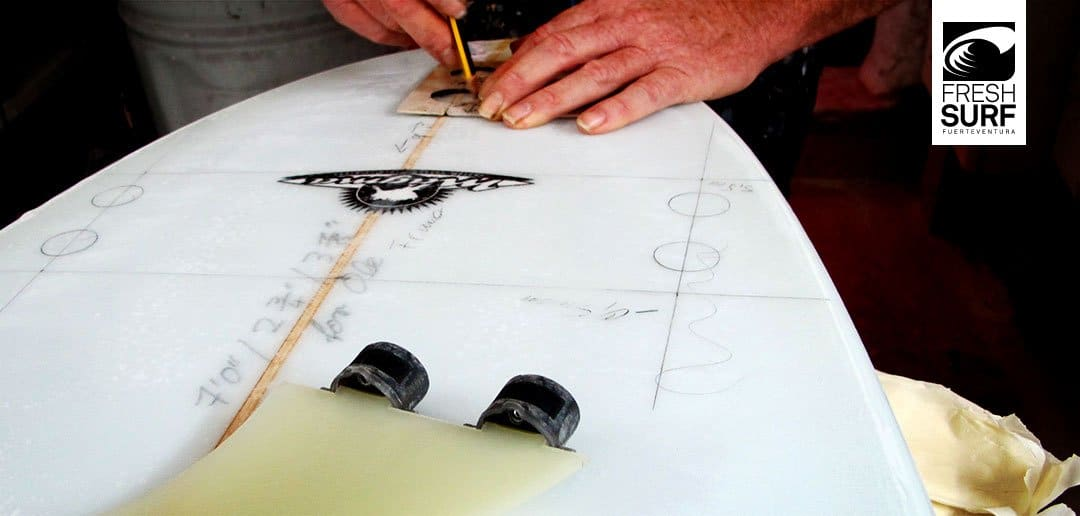 Glassing eines Surfboards