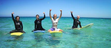 Surfcamp-Fuerteventura-Spass-im-Wasser-haben