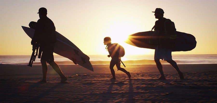 Unglaublich:Surfen ohne Augenlicht!