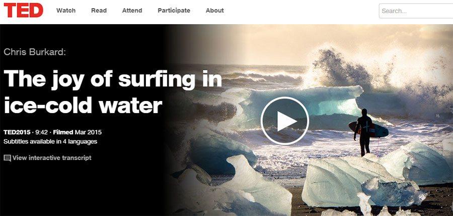 Surfen im eiskalten Wasser: Chris Burkard und seine Leidenschaft