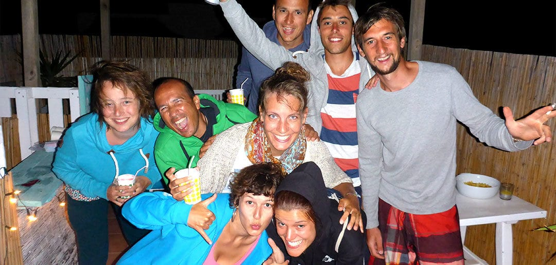 Cocktail-Nacht in unserem Surfcamp in Cotillo!