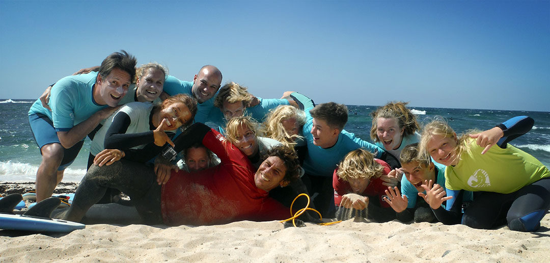 Von großen Herausforderungen und kleinen Wellen – Surfkurse am 03.08.2015 auf Fuerteventura