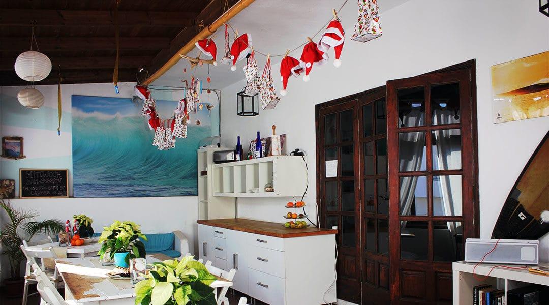 Adventskalender-Action im FreshSurf Surfcamp auf Fuerteventura