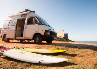 Genug Platz für Surfbretter