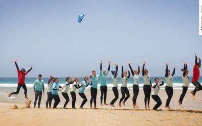 LAOLA in unserem Surfcamp auf Fuerteventura