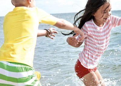 Wasserspaß mit Kindern