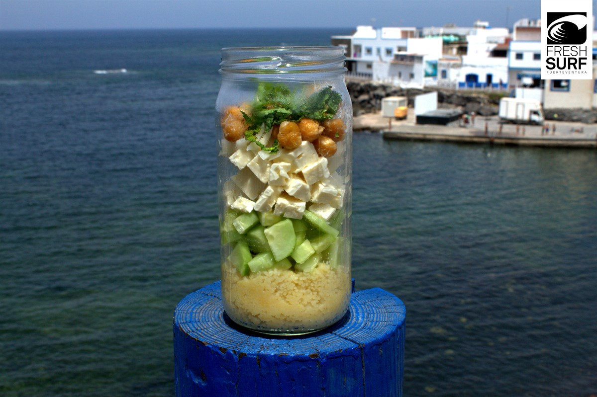 Der fertige Shaking Salad