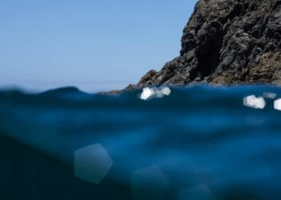 Glitzerndes Meer