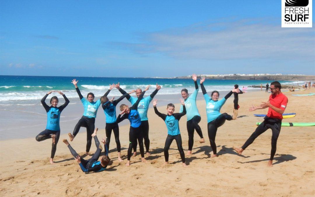 Von Youngstern und Early Birds – Unsere Surfkurse am 08.10.2016 auf Fuerteventura