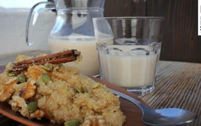 Quinoa-Porridge zum Frühstück für den richtigen Start in deinen Surftag!