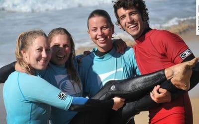 Wenn die Surfcamp Mädels mit Surfen gehen – unsere Surfkurse am 04.11.2016