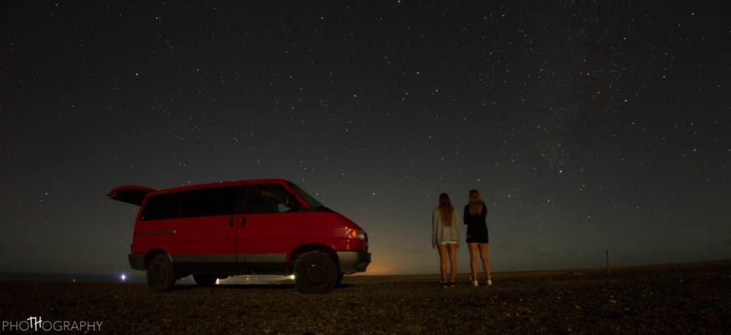 Van nachts im Süden Fuerteventuras