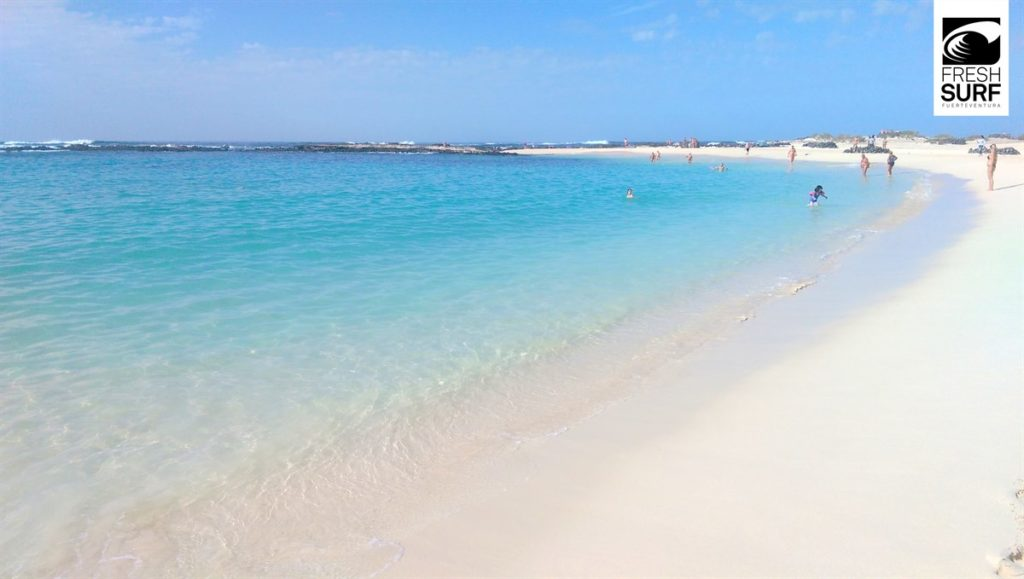 Strand in El Cotillo