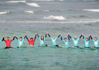 Gruppenfoto Surfkurs