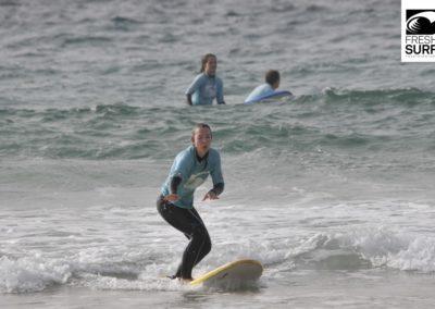 Spaß an den ersten Wellen