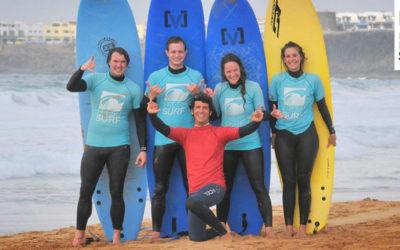 Surf's Up in unserem Surfcamp – Unsere Surfkurse am 21.02.2017