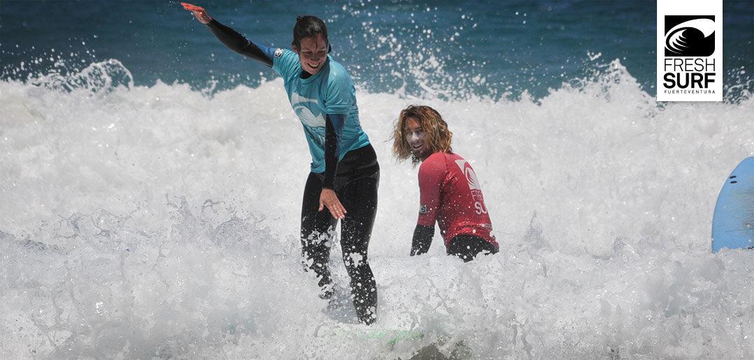 Strahlende Gesichter und reichlich Spaß im Wasser- Unsere Surfkurse am 16.05.2017