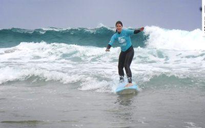 Hartes Paddeln zahlt sich aus- Unsere Surfkurse am 17.05.2017
