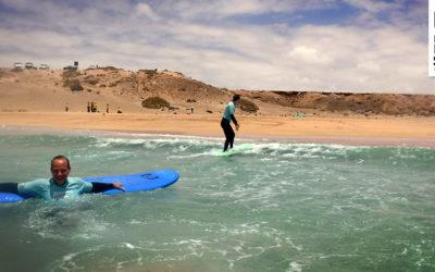 Wir starten gemütlich in eine neue Surfwoche – Unsere Surfkurse am 22.05.2017