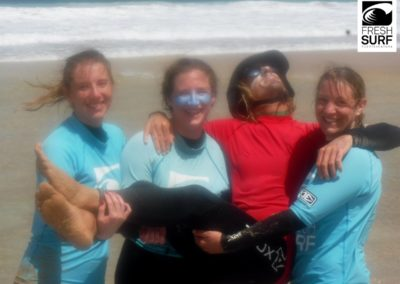 surfcoach and students