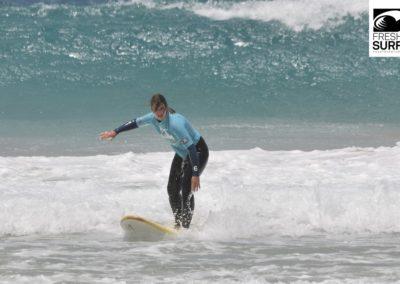 Surfen im Weißwasser