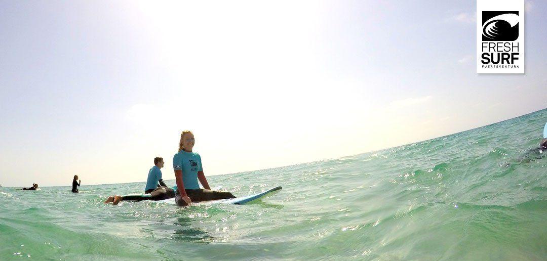 Ein gelungener Start in die Woche am Cotillo Beach – unsere Surfkurse am 14.08.2017