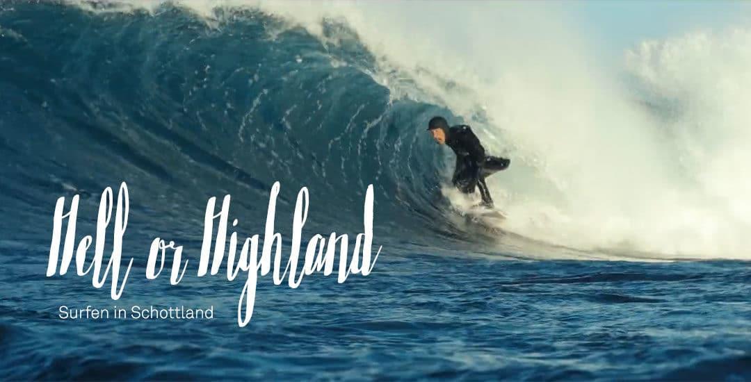 Cold Water Surfing – Wellenreiten in Schottland