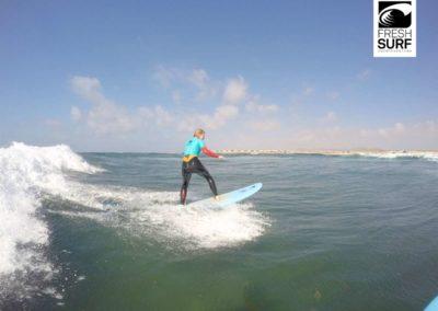 Surfen am Riff