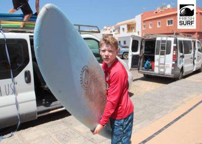 Erster Surfkurs